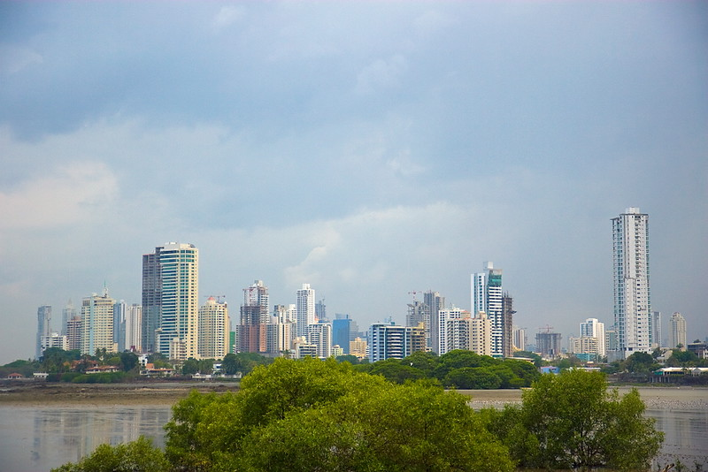 """""""View of city from Panama Viejo"""""""