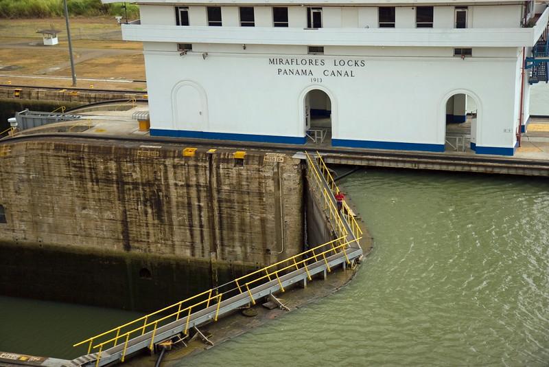 Ciudad De Panamá Miraflores Locks; Panamá; Panamá Canal