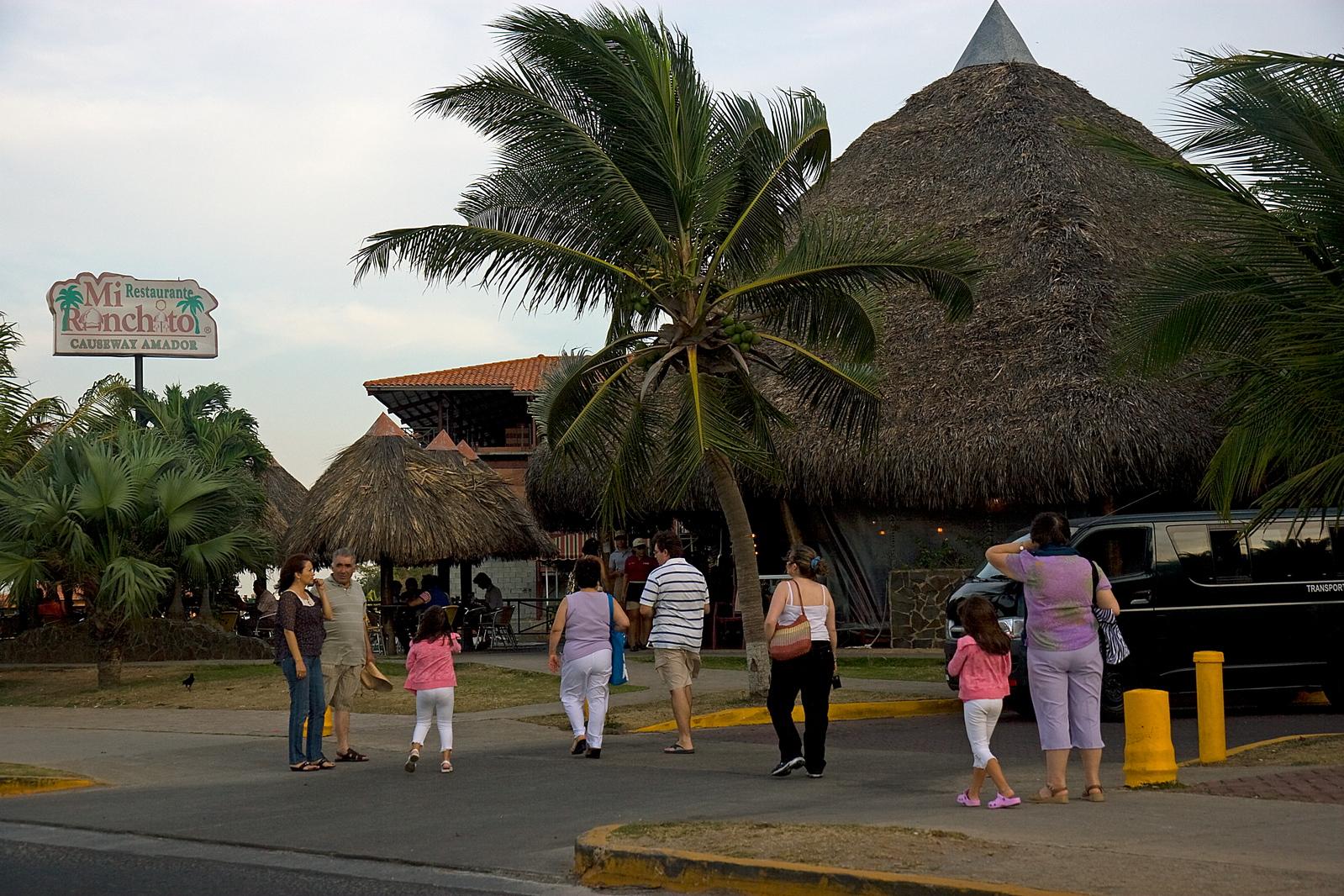 """Mi Ranchito restaurant good food on Amador Causeway"""