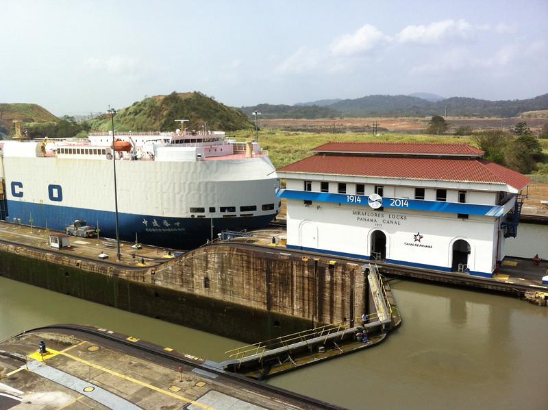 Panama Canal. Celebrating 100 year anniversary!!<br /> Miraflores 1914-2014