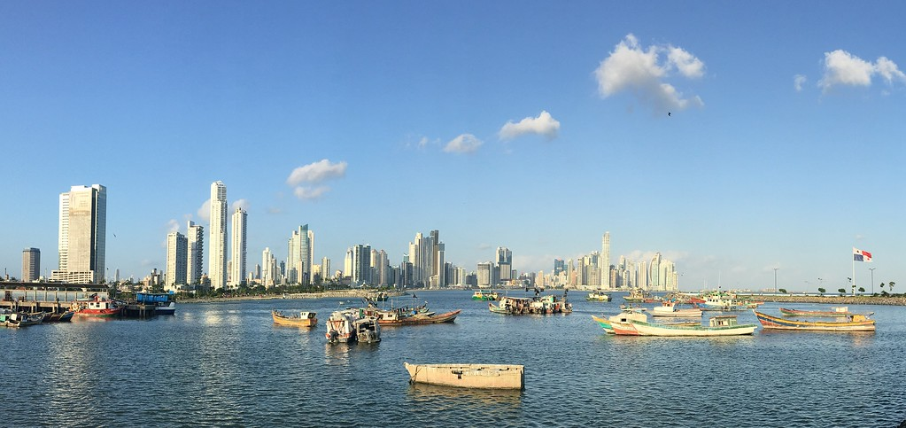 Panama is a blend of old and new living together.