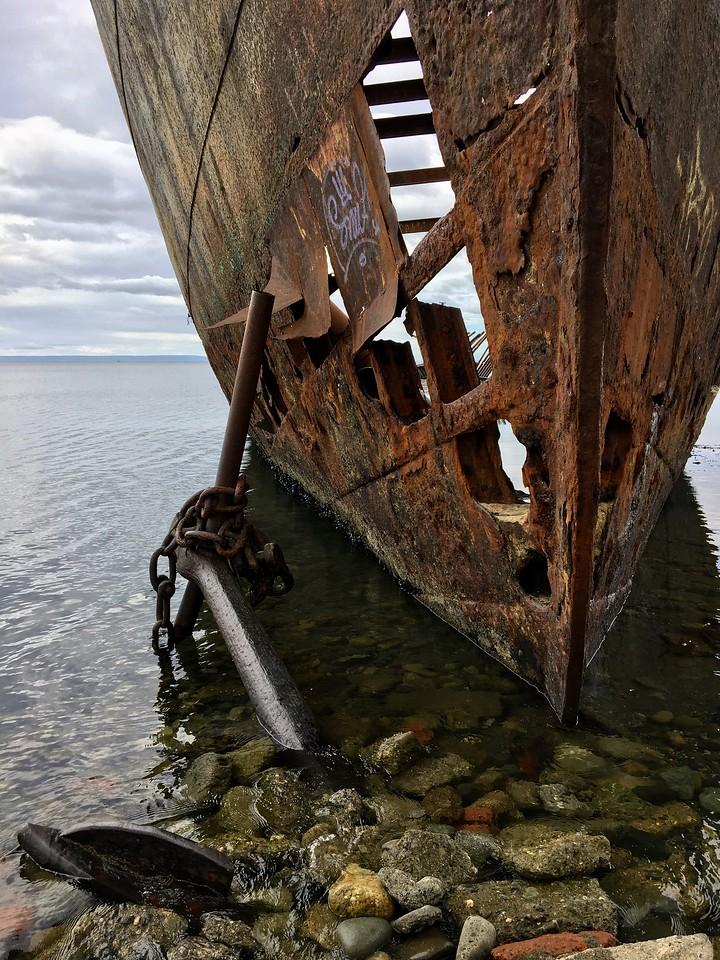 Strait of Magellan, Chile.
