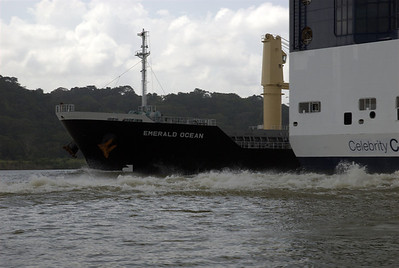 Panama Canal needs to widen out...