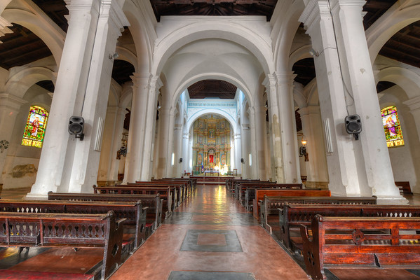 Inside Casco Viejo Cathedral