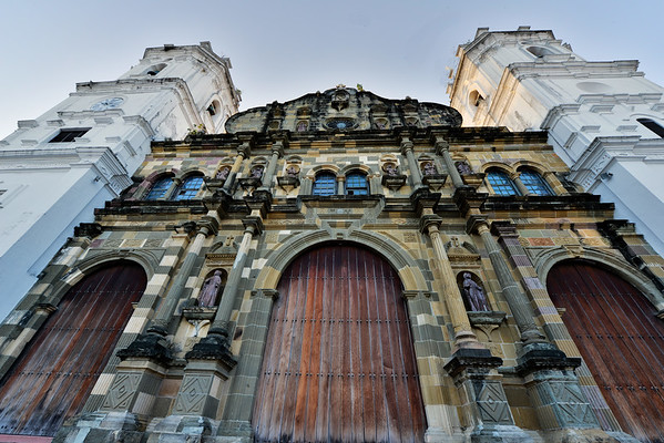 Casco Viejo Cathedral from ground