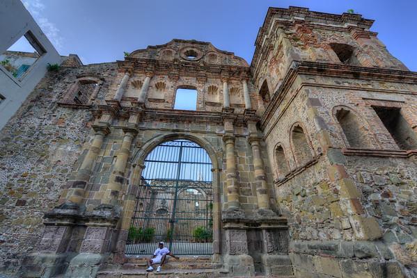 Old building in Casco Viejo