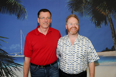 Galen and Geoff at sailaway in Fort Lauderdale