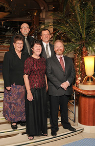 Tony (top, left), Galen, Hollis, Mary Pat, and Geoff