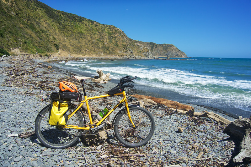 Celebrating the Mighty Thorn Nomads third birthday at Makara Beach.... go Mighty Thorn Nomad!