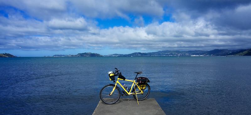 Wellington Harbour from Petone Mar 2016