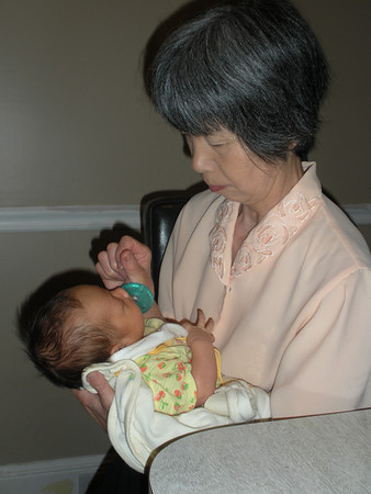 Meeting her Japanese Relatives