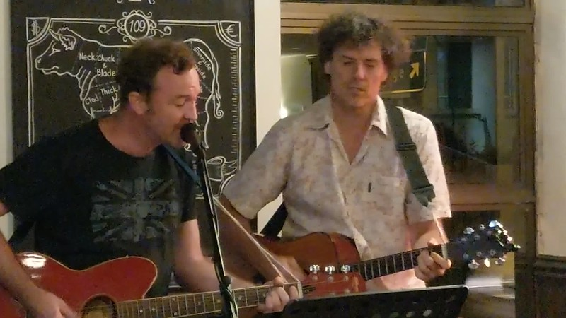Crown open mic<br> Tom Smith &amp; Dale Peachey