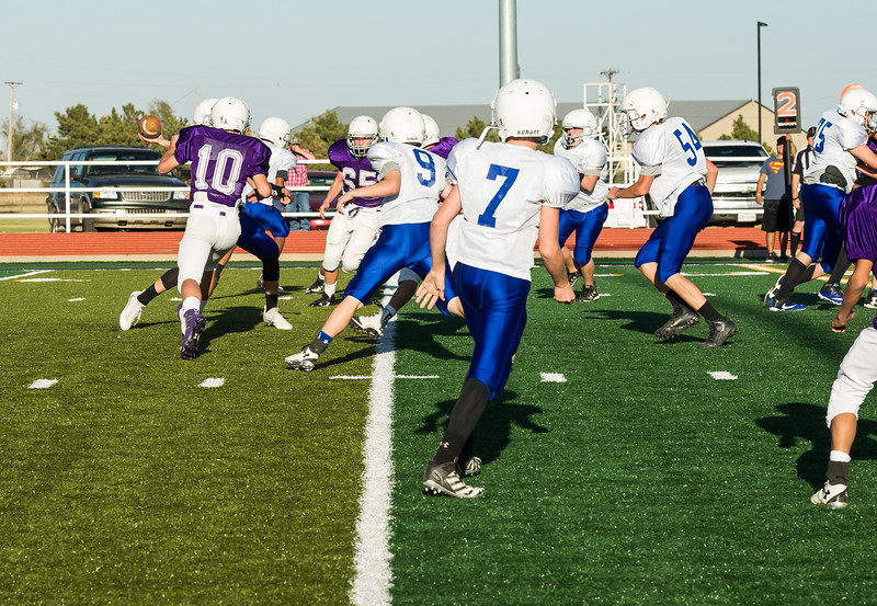 7th & 8th Panthers vs Sanford-Fritch, 10-27-2016