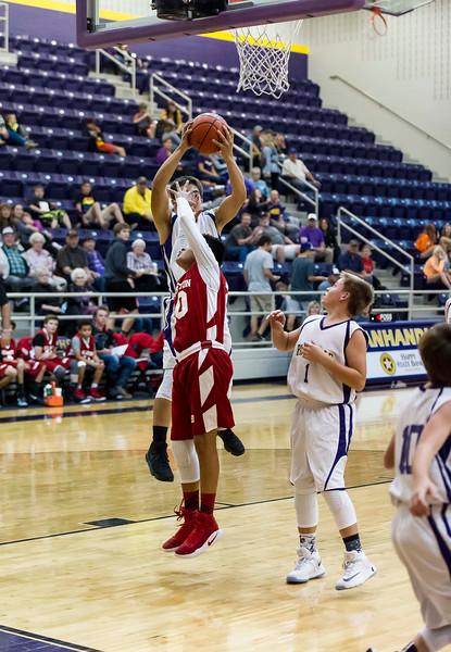 Panther 8th Basketball, vs Wellington, 11-21-2016