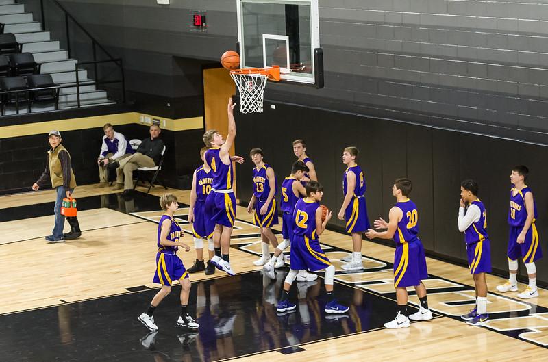 Panther JV Basketball vs Vega, 12-11-2017
