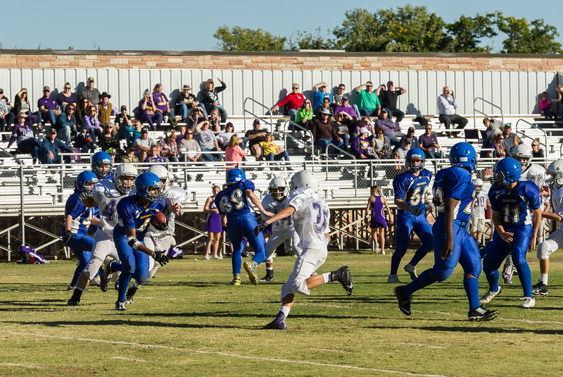 Panthers 7th & 8th vs Boys Ranch, 10-20-2016