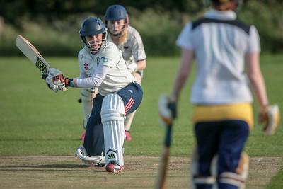 Rachel Hildreth batting for Pannal Ladies