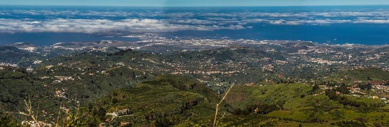 Las Palmas de GC desde San Mateo