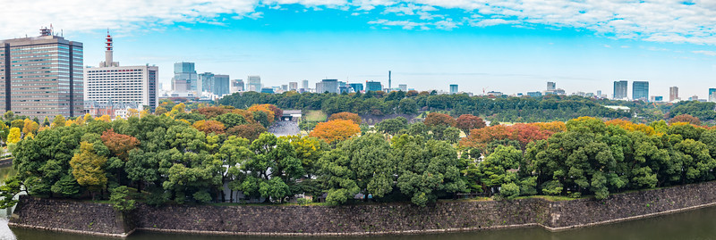 Imperial Palace in Autumn