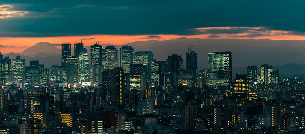 Shinjuku from Bunkyo Civic Center