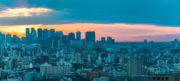Shinjuku from Bunkyo Civic Center