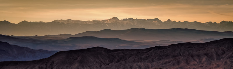 Mt Whitney from Death Valley