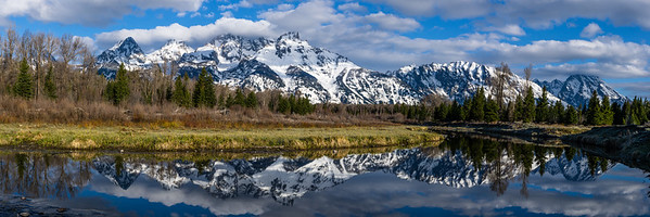 Lessons in Panoramas - Grand Teton National Park