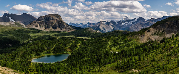 MT ASSINIBOINE FROM A DISTANCE