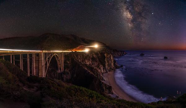 BIXBY BRIDGE BENEATH THE MILKY WAY | BIG SUR - CALIFORNIA