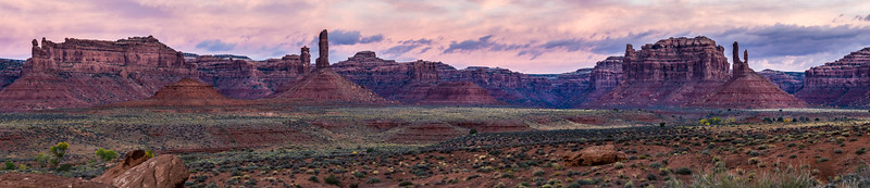 Valley of the Gods Panoramic