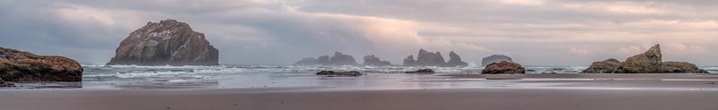 Bandon Beach Panorama