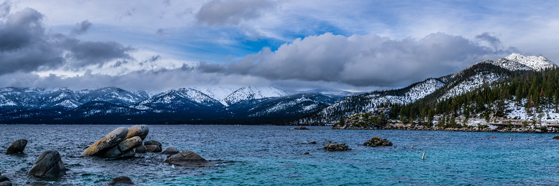 LAKE TAHOE - SAND HARBOR SUNSET