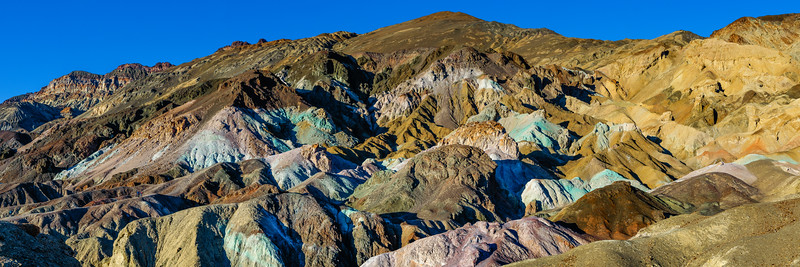 ARTISTS PALETTE PANORAMA - DEATH VALLEY NATIONAL PARK