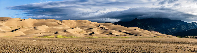 MORNING STORM - GREAT SAND DUNES NATIONAL PARK