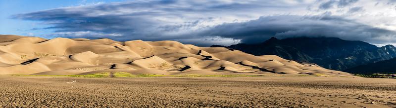 MORNING STORM - GREAT SAND DUNES NATIONAL PARK