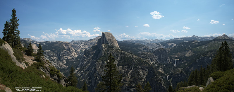 """<a href=""""http://gigapan.com/gigapans/141376"""">http://gigapan.com/gigapans/141376</a><br /> Half Dome in Yosemite as seen from Glacier Point"""