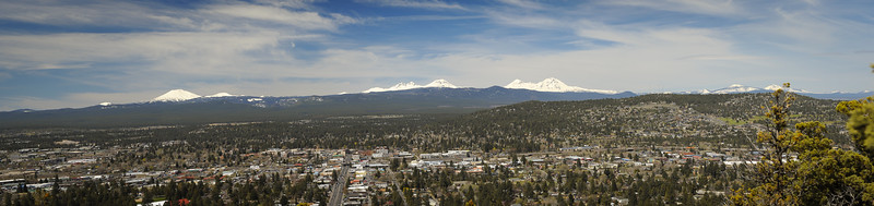 Bend from Top of Pilot Butte