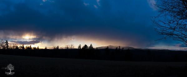New Years Eve Sunset on Monadnock 2014