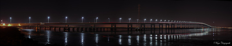 San Mateo Bridge, CA 11/4/2012
