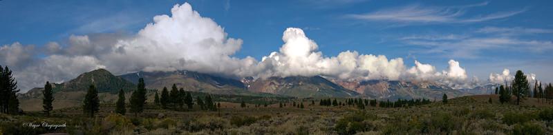 Parker Peak (L), Mount Lewis (M) & Mount Gibbs (R)  9/2011