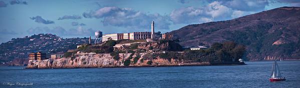 Alcatraz Island, San Francisco from Pier 41 - 11/11/2012