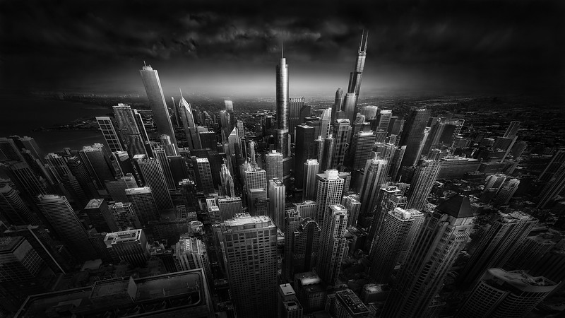 Rooftop Stories - Chicago Skyline