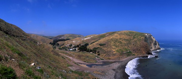 California, Channel Islands National Park, Santa Cruz Island, Scorpion Anchorage