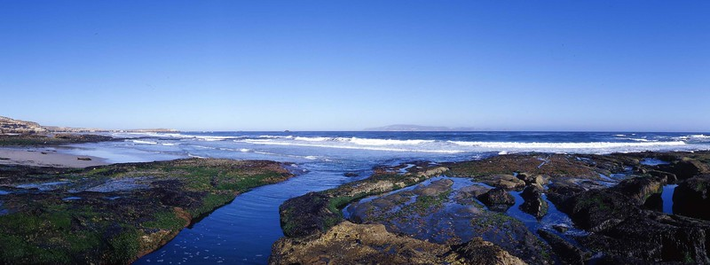 California, Channel Islands National Park, Santa Rosa Island, Sandy Point