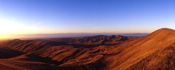 California, Channel Islands National Park, Santa Rosa Island, Sunset