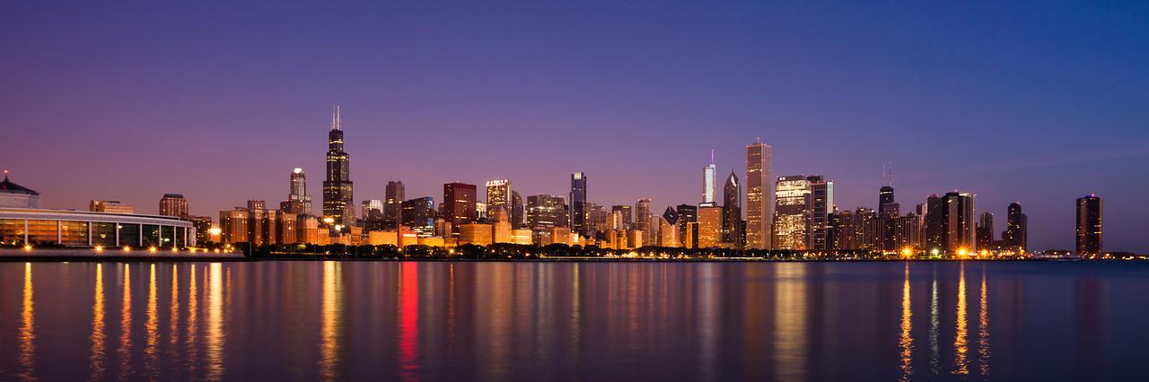 Chicago Day Break