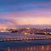 Golden Gate Dawn Pano