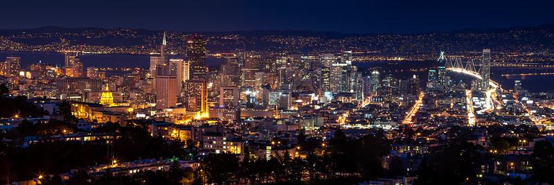 From Mt. Davidson Night<br /> San Francisco, CA