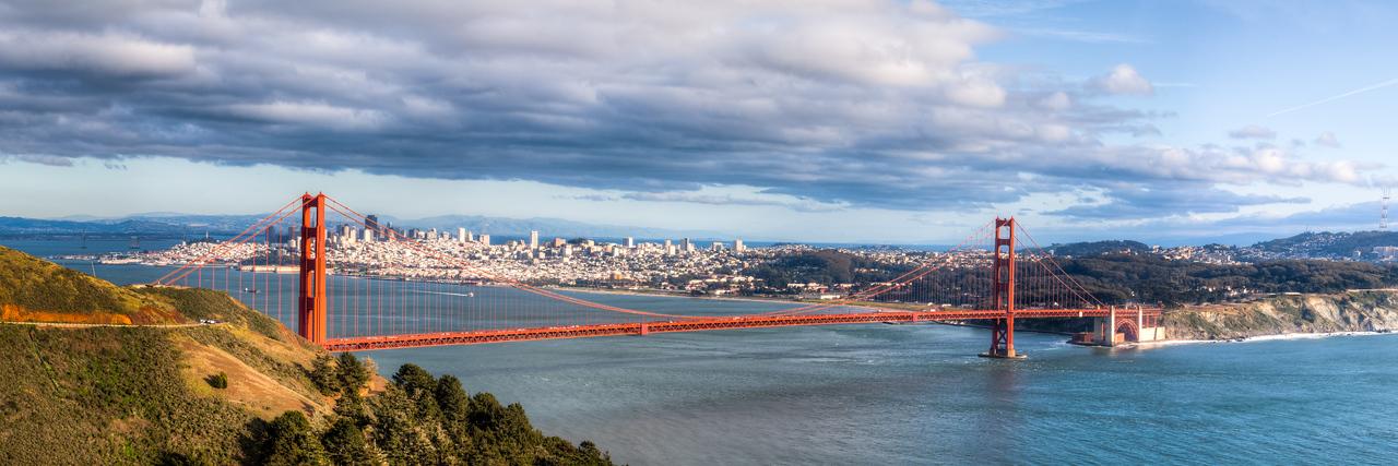 Golden Gate Day Panorama<br /> San Francisco, CA