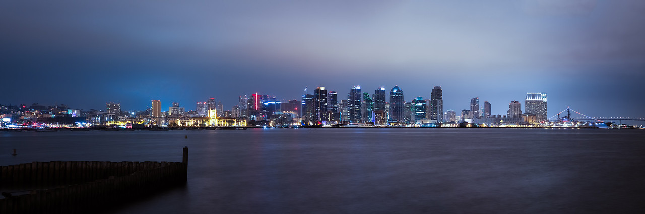 San Diego Night Pano